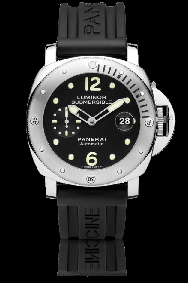 Do tej doby spoločnosť G. Panerai   Figlio vyrábala hodinky s využitím  púzdier značky ROLEX. Prvým modelom náramkových hodiniek ... 8f187e7018