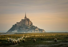 Mont Saint-Michel Francúzko