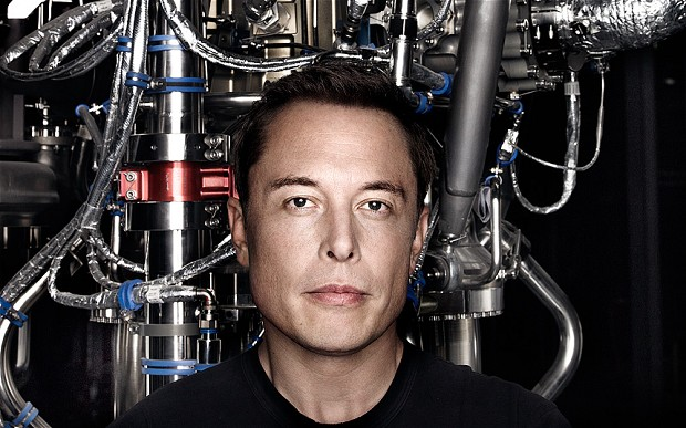 kniha Elon Musk