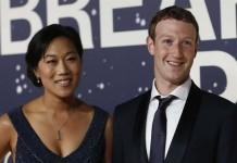 Mark Zuckerberg Priscille Chan