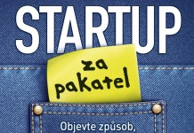 kniha Startup za pakatel