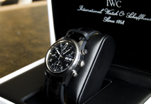 ako vyzerajú hodinky IWC