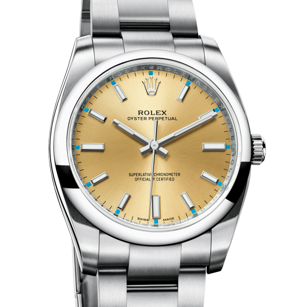 OYSTER PERPETUAL 34 cena