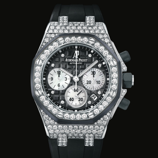 hodinky ROYAL OAK OFFSHORE LADY cena