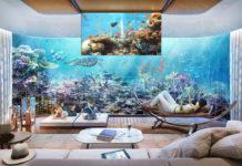 ložnice pod vodou