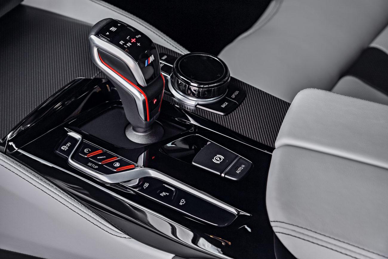 palubovka nového BMW