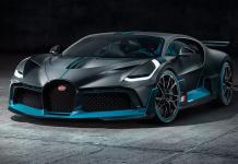 interiér Bugatti Divo