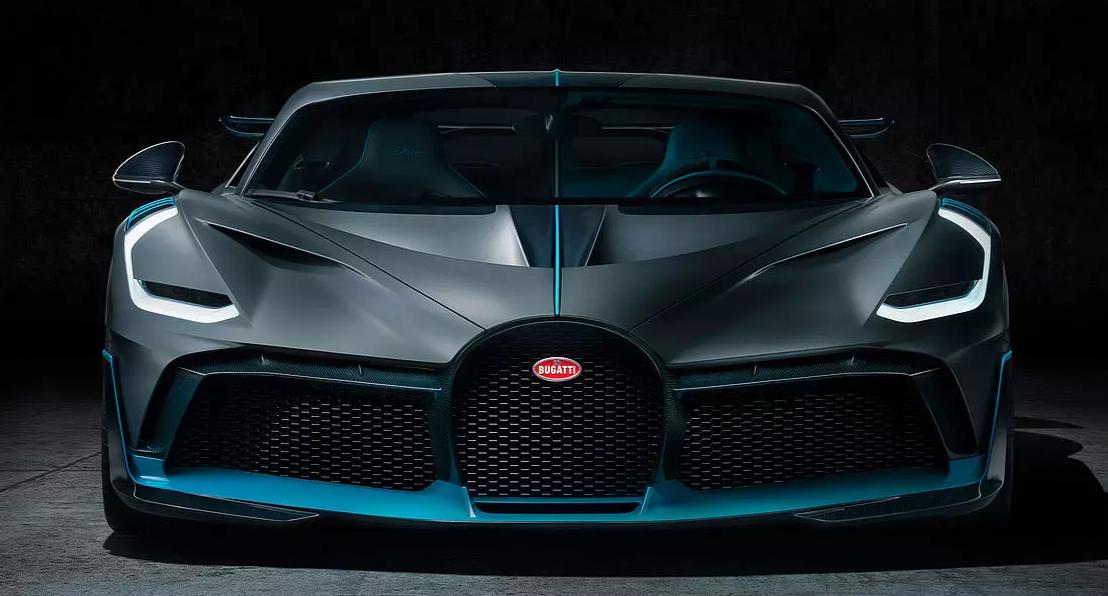 predná maska Bugatti Divo