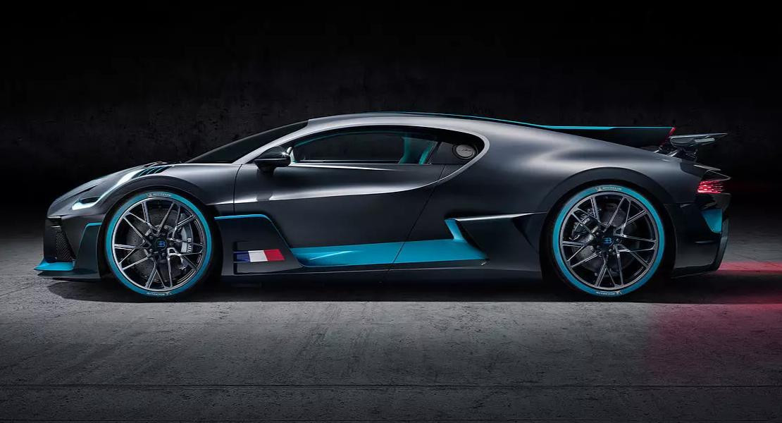 auto Bugatti Divo