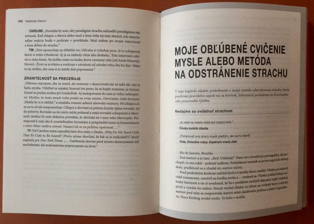 ukážka z knihy nástroje titanov 4